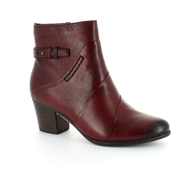 Tamaris Oskana 25302-501 Wine ankle boots