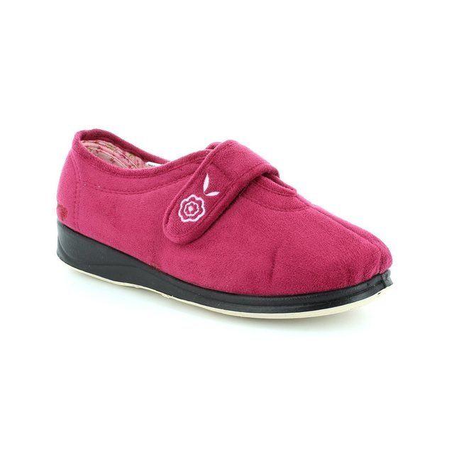 Padders Camilla 447-69 Fuchsia slippers