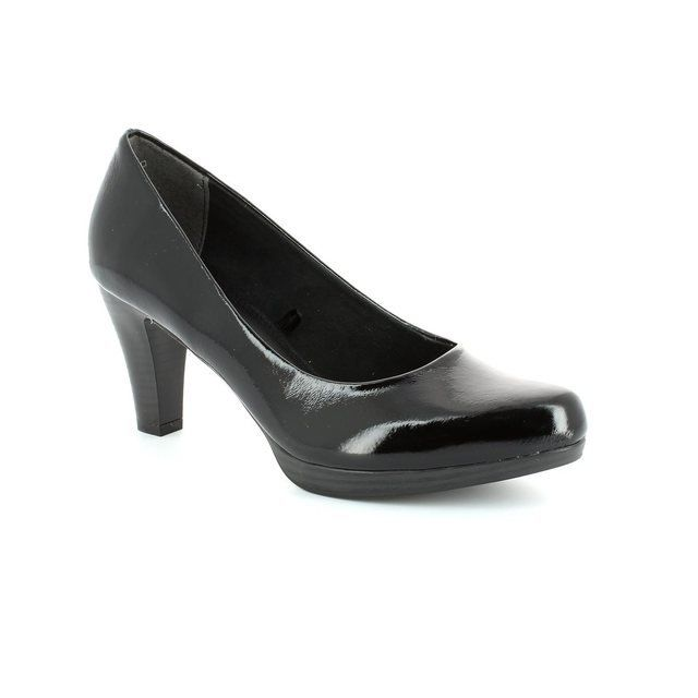 Marco Tozzi Heeled Shoes - Black patent - 22408/018 SENAGA