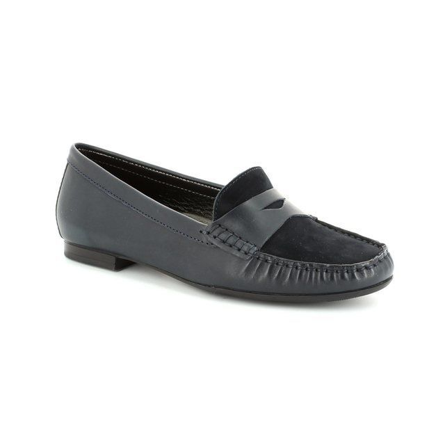 Ambition Flora 2910-27 Navy loafers
