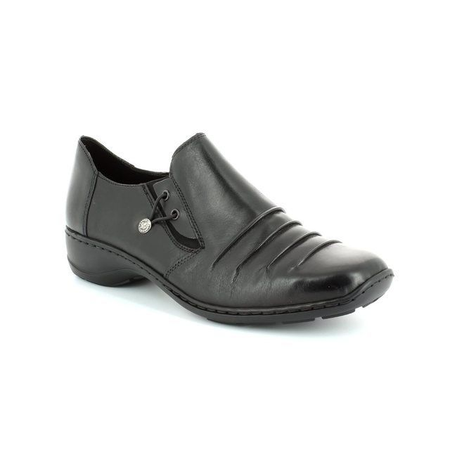 Rieker Everyday Shoes - Black - 58353-00 DORWIN