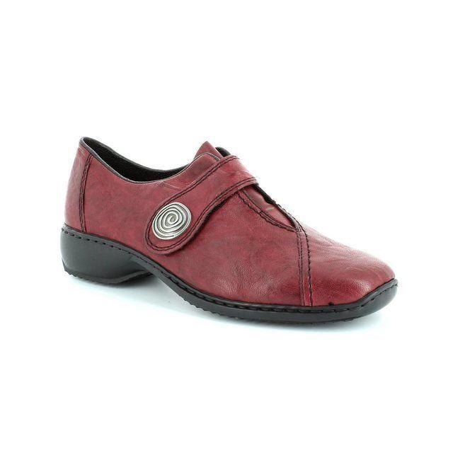 Rieker Everyday Shoes - Red - L3870-35 DORVEL