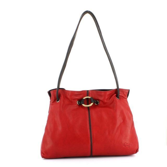 Gigi Bags Handbags - Red/black - 4323/80 OTHTT 4323