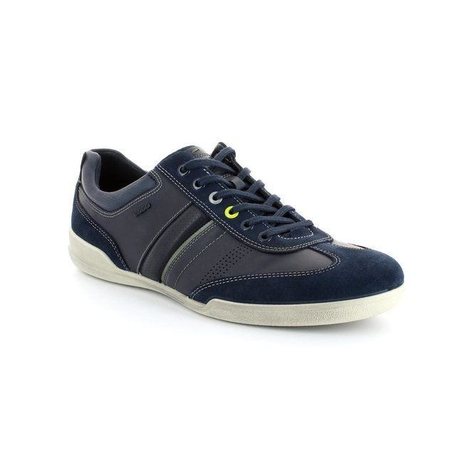 ECCO Enrico 537594-50642 Navy fashion shoes