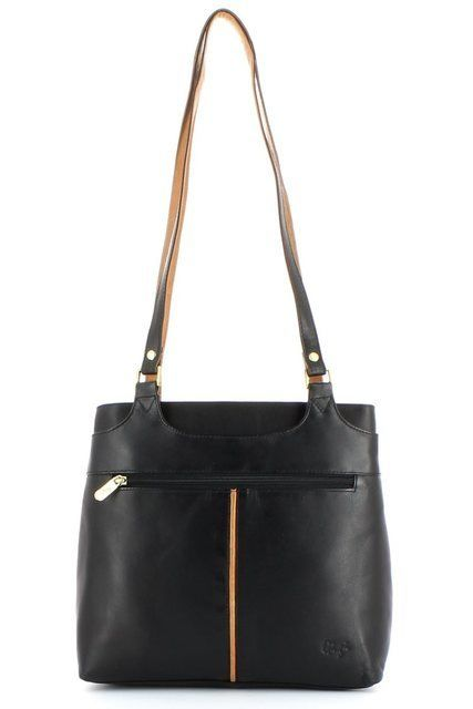 Gigi Bags Othtt 544 0544-30 Black/Honey handbag