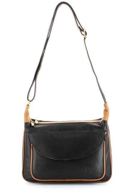 Gigi Bags Othtt22 17 2217-31 Black/Honey handbag