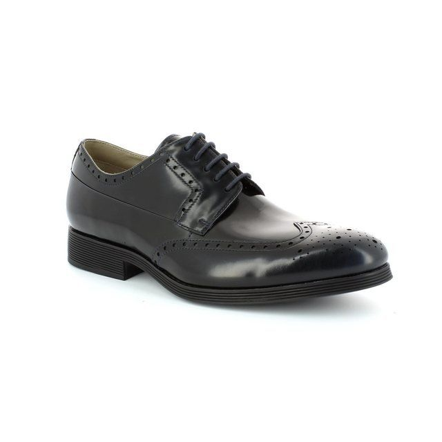 Clarks Gabwell Limit Navy formal shoes