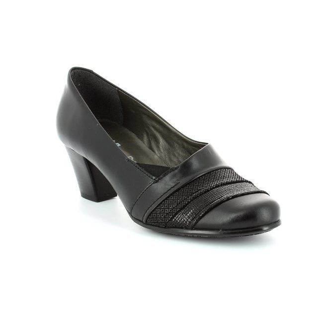 Alpina Dubarry 8Y78-83 Black heeled shoes