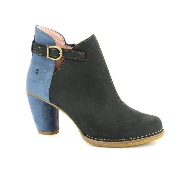 El Naturalista Colibri N472 -30 Black multi ankle boots