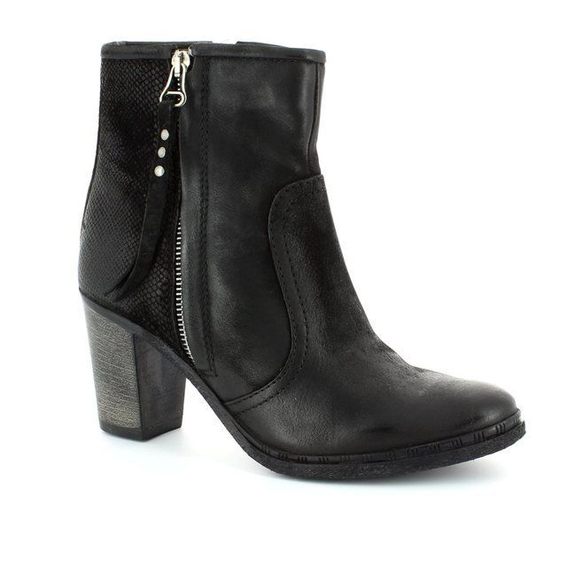 Mjus Bargano 580204-006002 Black ankle boots