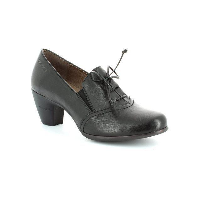 Wonders Heeled Shoes - Black - G3690/30 WIND