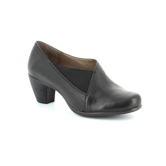 Wonders Heeled Shoes - Black - G3683/30 WINDELA