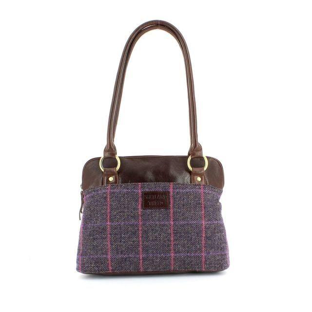 Shetland Tweed Shoulder 5030-92 Tweed handbag