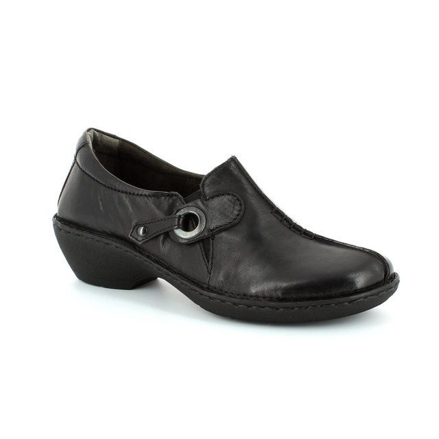 Relaxshoe Under 029002-30 Black comfort shoes
