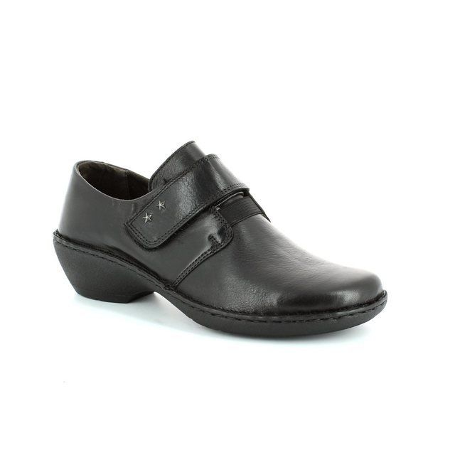 Relaxshoe Everyday Shoes - Black - UNDERVEL 29056/30