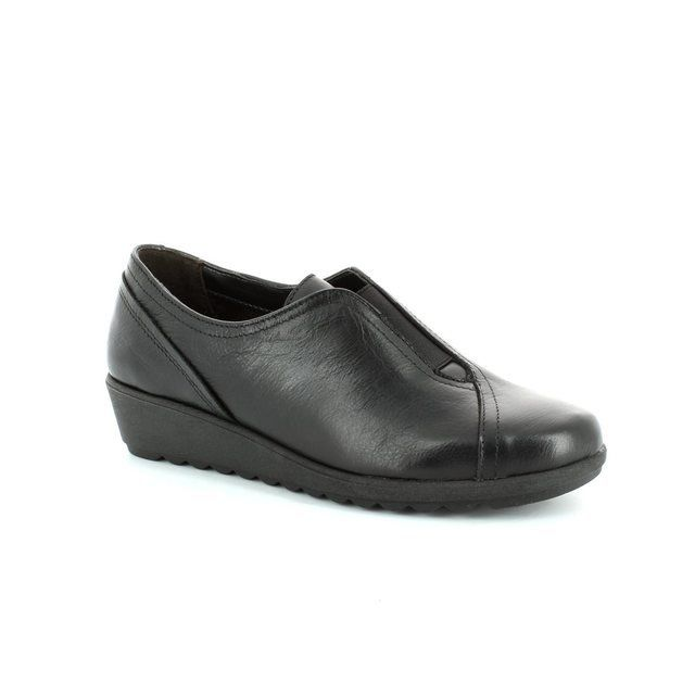 Relaxshoe Wednesday 18201-93 Black comfort shoes