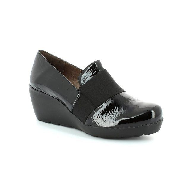 Wonders Heeled Shoes - Black patent - H2083/40 FLYER H2062/40