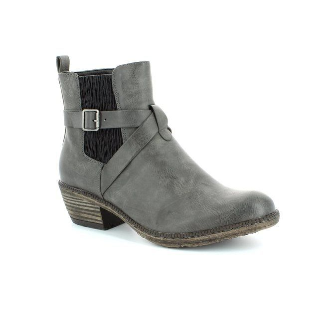 Rieker 93794-45 Grey ankle boots