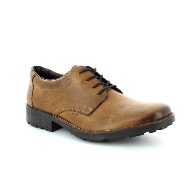 Rieker 16021-25 Brown formal shoes