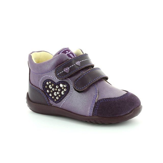 IMAC Abc Hearts 44810-1458004 Purple first shoes
