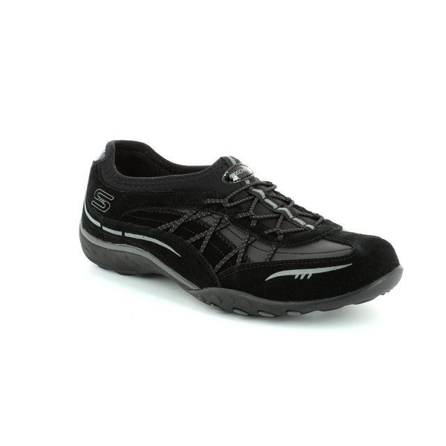 Skechers City Light Mf 22474 BBK Black lacing shoes
