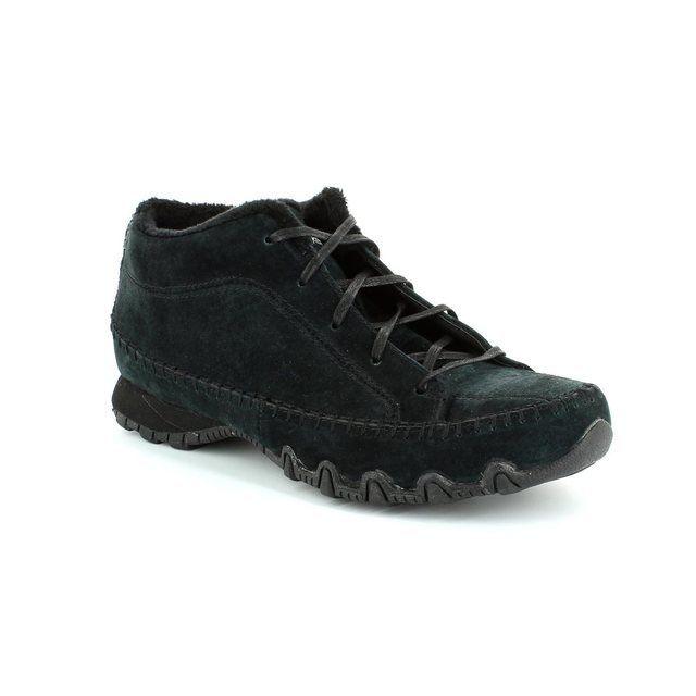 Skechers Bikers Totem M 49013 BBK Black walking boots