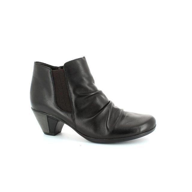Remonte Annie D1294-01 Black ankle boots