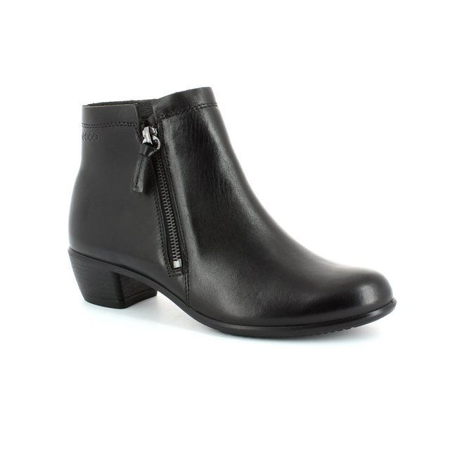 ECCO Boots - Ankle - Black - 264023/01001 TOUCH35 TWINZI