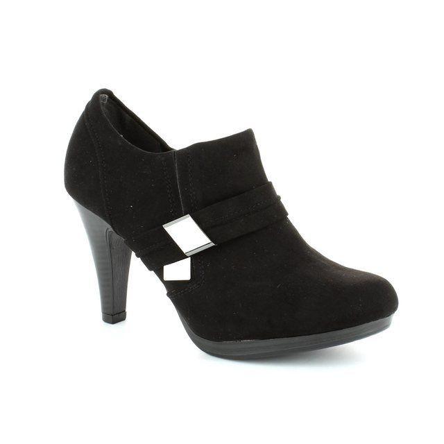 Marco Tozzi Heeled Shoes - Black - 24409/001 MENZA