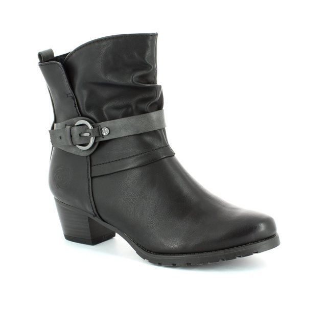 Marco Tozzi Rosabuck 25374-096 Black ankle boots