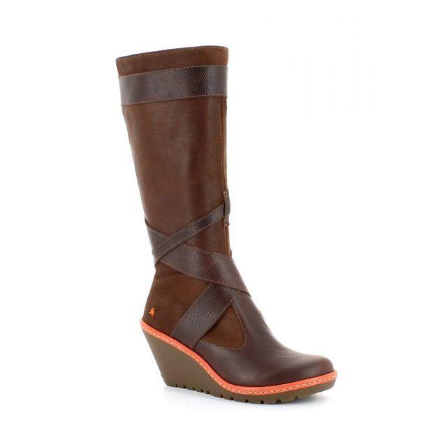 Art Boots - Long - Brown multi - 0249/20 ARTFLY