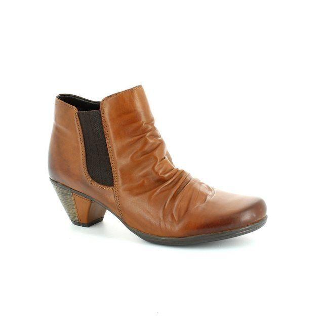 Remonte Dorndorf Annie D1294-24 Tan ankle boots