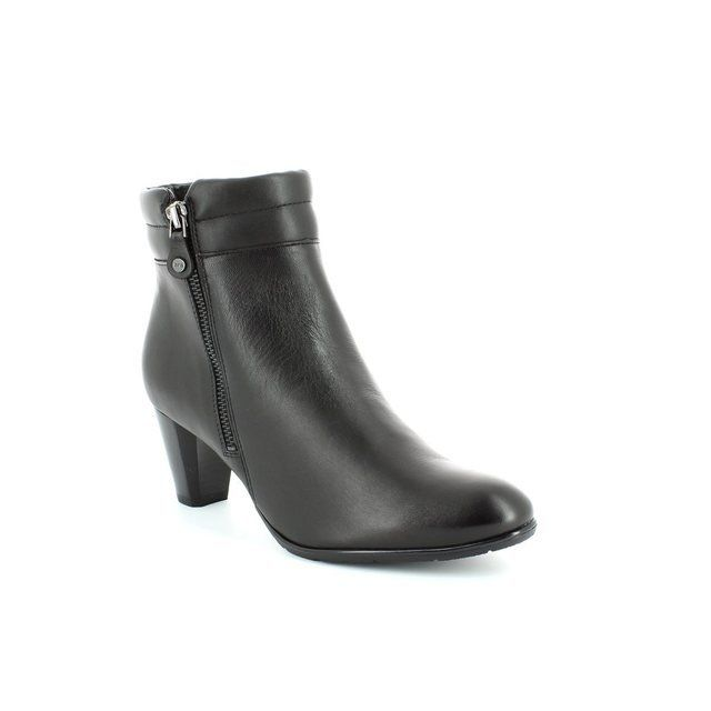 Ara Toulouse 1243467-71 Black ankle boots