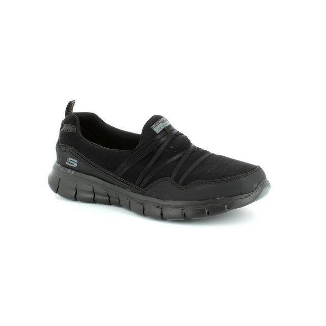 Skechers Trainers & Canvas - Black - 12004/43 SCENE STEALER 12004