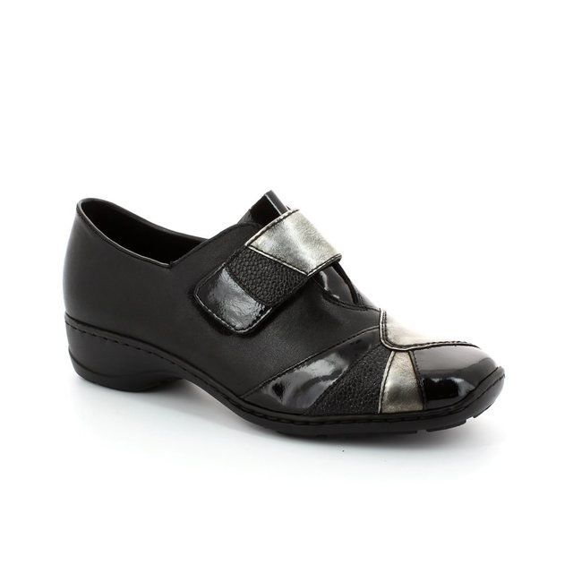 Rieker 58361-00 Black comfort shoes