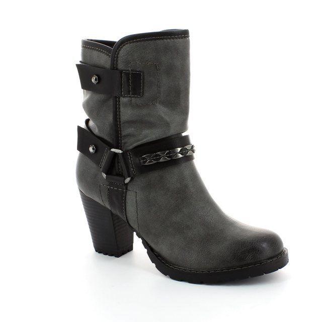 Tamaris Boots - Ankle - Dark grey multi - 25445/223 CANESALAPINO