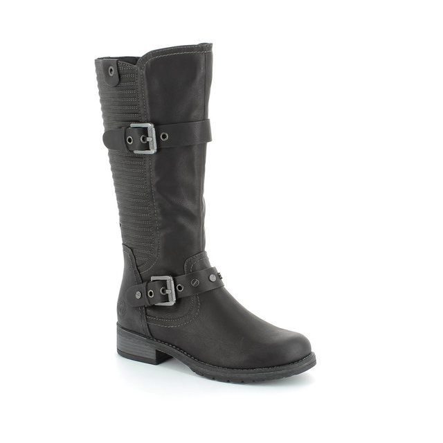 Marco Tozzi Alpirib 25605-002 Black long boots