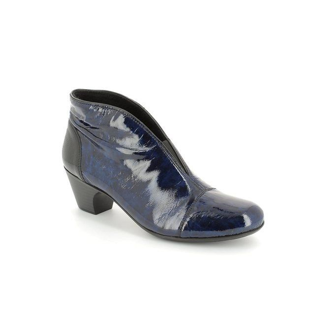 Rieker 50553-12 Blue ankle boots
