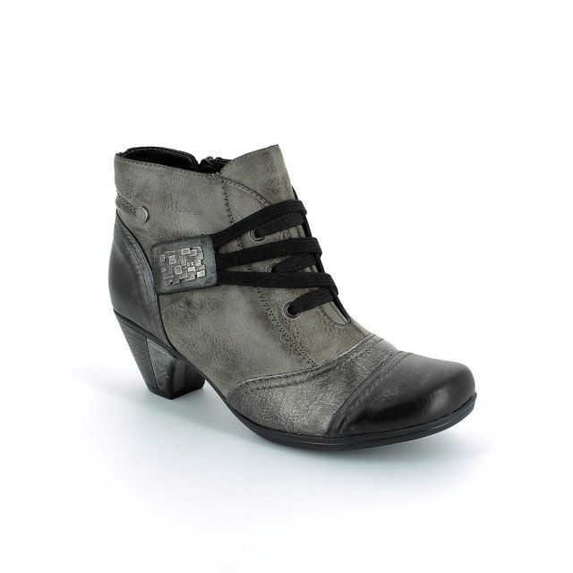 Remonte Boots - Ankle - Grey multi - D1297-25 ANNTANG