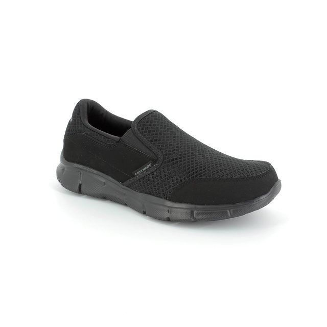 Skechers Trainers & Canvas - Black - 5136/13 PERSISTENT