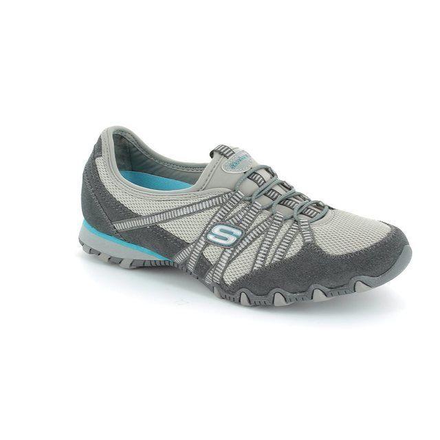 Skechers Hot Ticket Bik 21159 GREY Grey lacing shoes