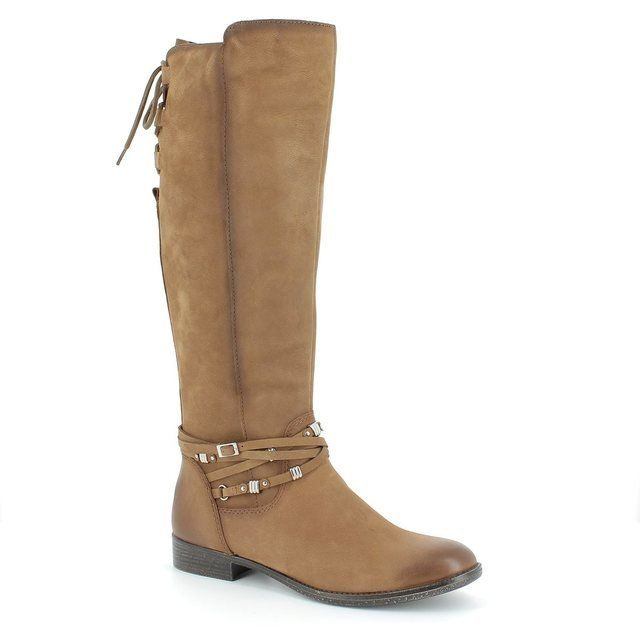 Tamaris Febus 25505-311 Tan long boots