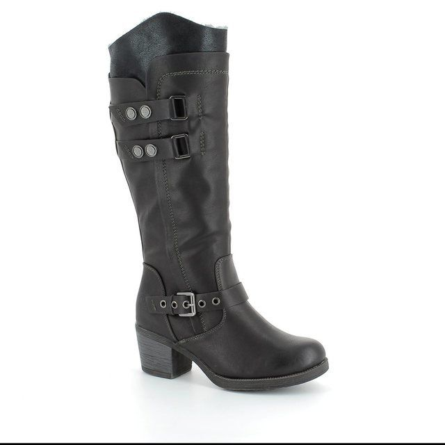 Marco Tozzi Cantolong 26608-096 Black long boots