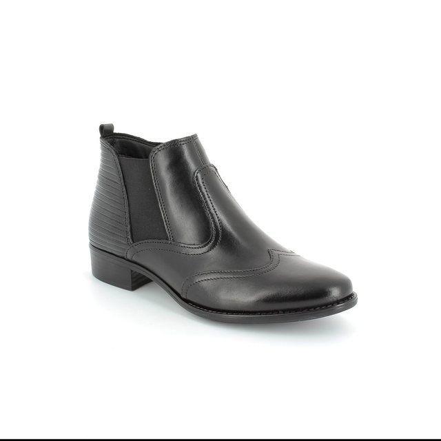 Tamaris Linda 25001-001 Black ankle boots