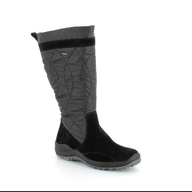 Legero Anconsheep Gor 00983-00 Black suede long boots