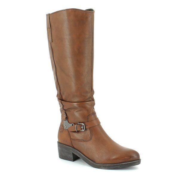 Marco Tozzi Agono 25528-340 Tan long boots