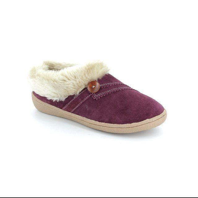 Clarks Slippers & Mules - Wine - 1344/84D ESKIMO SNOW