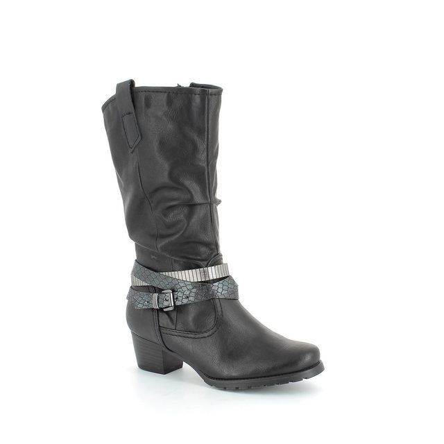 Marco Tozzi Rosandra 25375-096 Black long boots