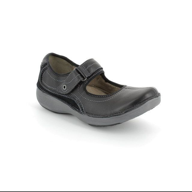 Clarks Everyday Shoes - Black - 0396/54D WAVE JOURNEY