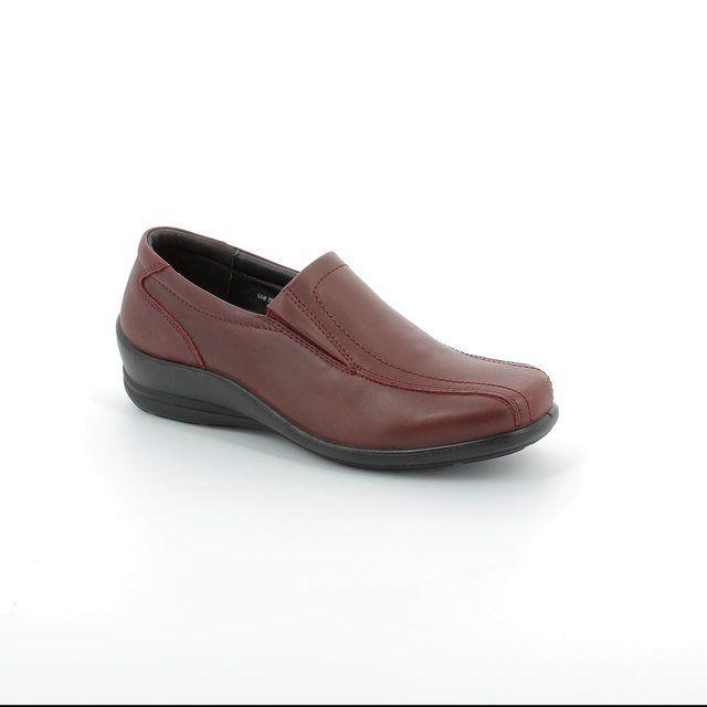 Padders Everyday Shoes - Wine - 205/12 SAM